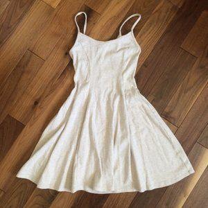 Forever XXI Cream Skater A-Line Dress